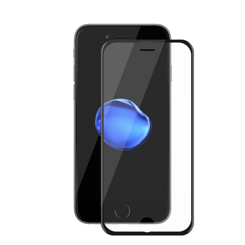 Apple iPhone 7/8 Plus ochranné tvrdené 3D sklo Black