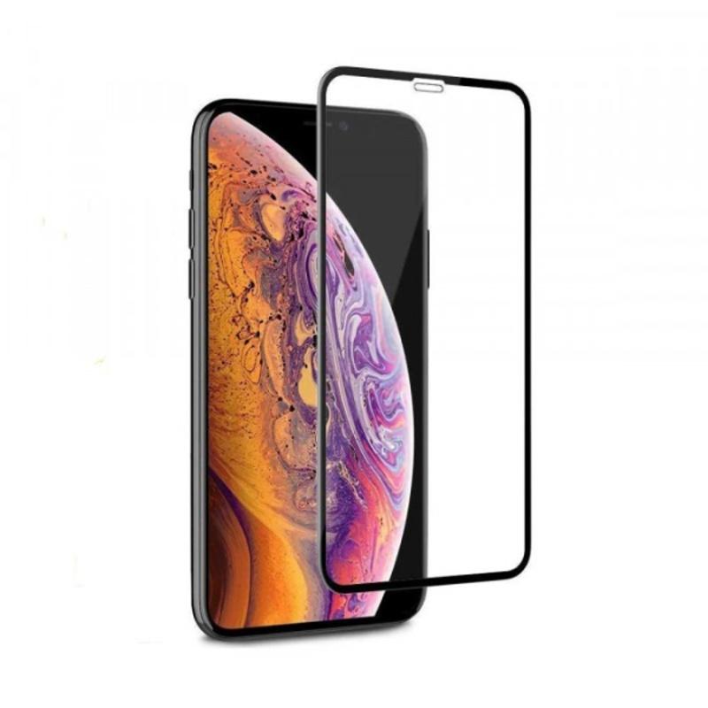 Apple iPhone XXS ochranné tvrdené 3D sklo Black
