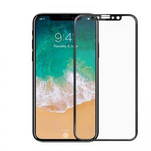 Apple iPhone X/XS ochranné tvrdené 5D sklo Black