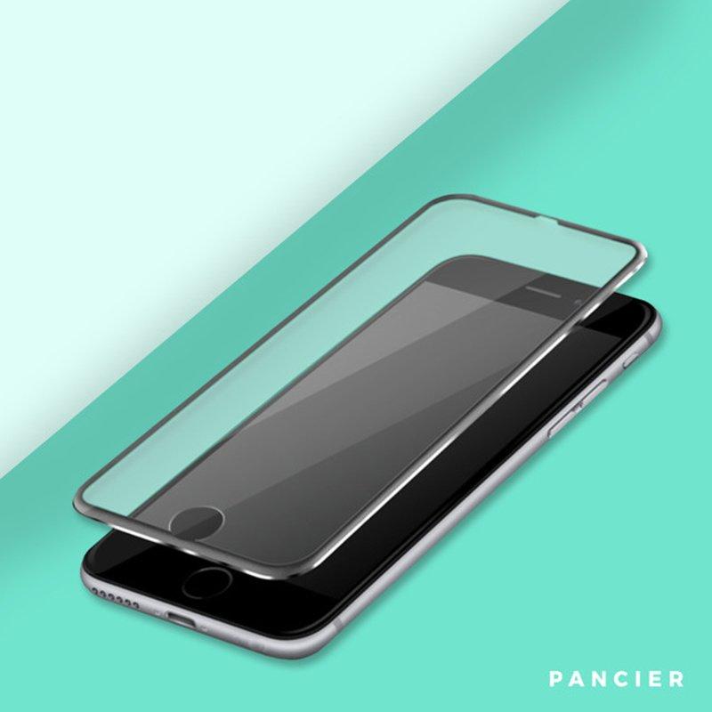 Ochranné 3D Silver sklo Apple iPhone 7/8/SE 2020