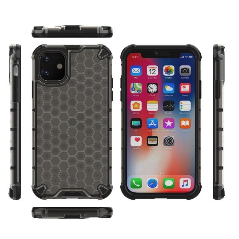 Kryt na iPhone 11 Honeycomb Armor Black