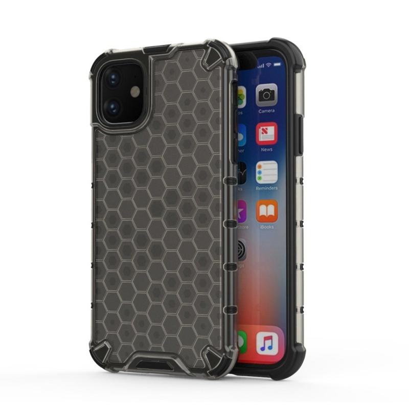 Honeycomb Armor kryt na iPhone 11 Black