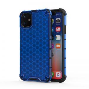 Honeycomb Armor kryt na iPhone 11 Blue