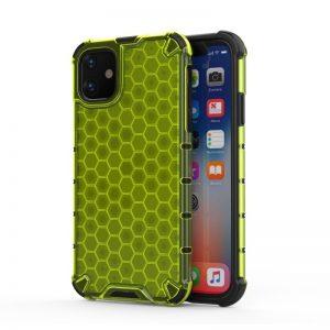 Honeycomb Armor kryt na iPhone 11 Green