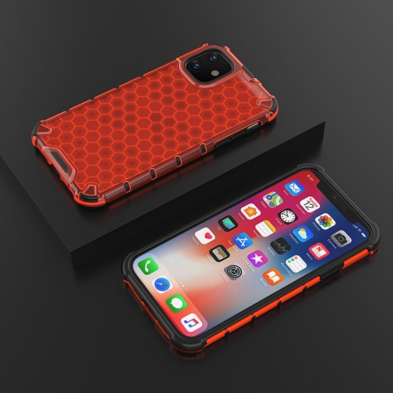 Honeycomb Armor kryt na iPhone 11 Red