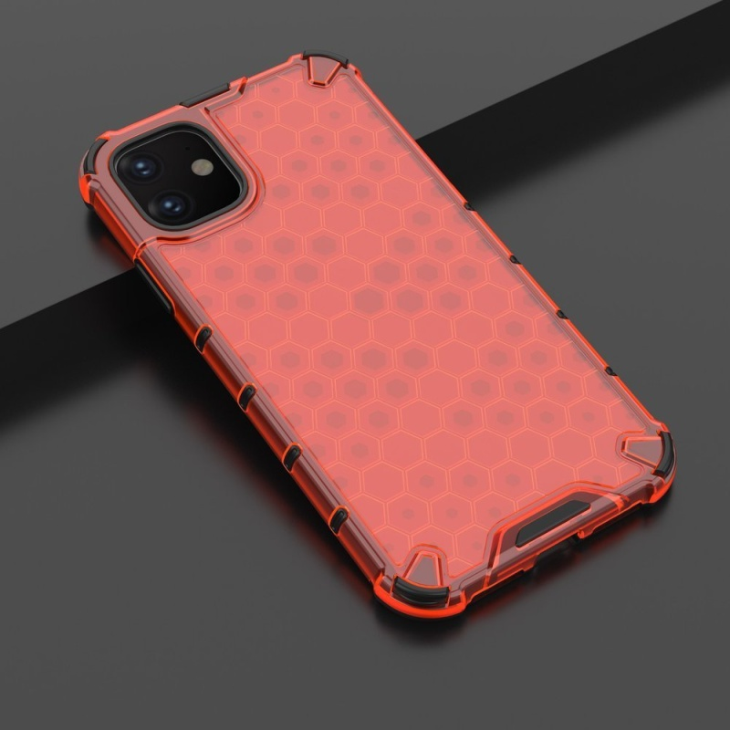 Kryt na iPhone 11 Honeycomb Armor Red