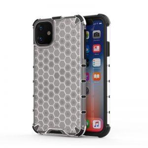 Honeycomb Armor kryt na iPhone 11 Transparent