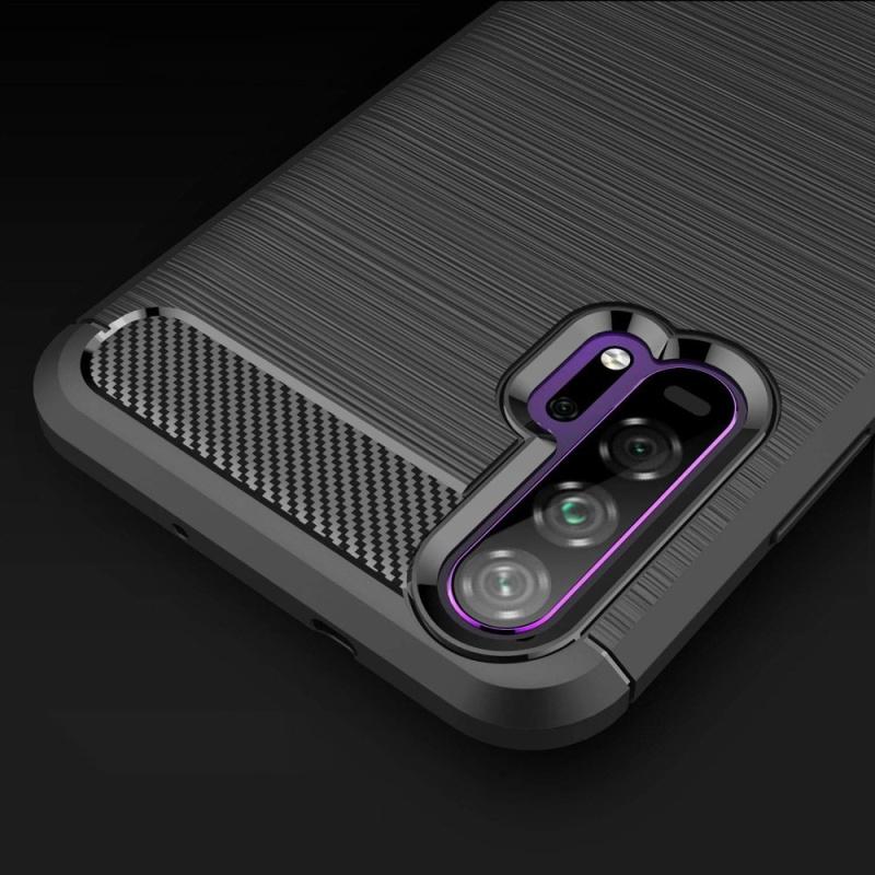 Honor 20 Pro silikónový kryt Carbon Black