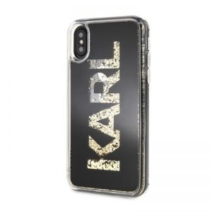 Karl Lagerfeld iPhone X/XS Glitter Black