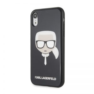 Karl Lagerfeld iPhone Xr Iconic Black