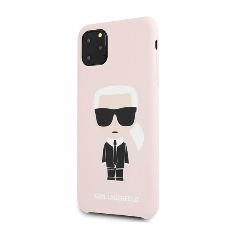 Karl Lagerfeld kryt na iPhone 11 Pro Max Pink Iconic
