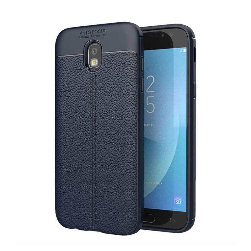 Samsung Galaxy J3 2017 silikónový kryt Blue