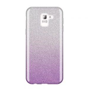 Samsung Galaxy J6 2018 silikónový kryt Pink Sparkling