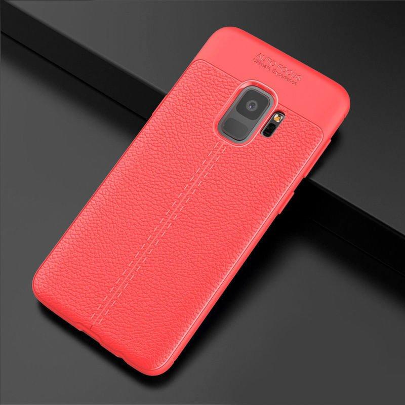Samsung Galaxy S9 silikónový kryt Red