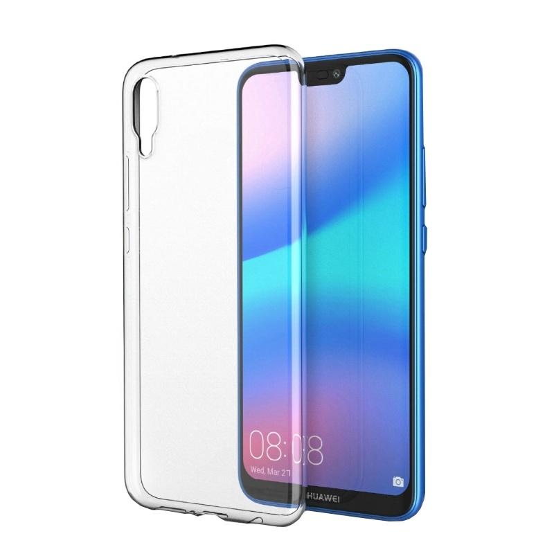 Silikónový kryt na Huawei P20 priehľadný