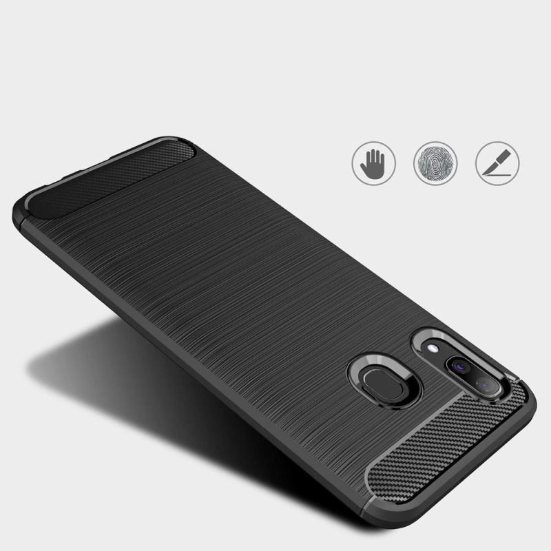 Silikónový kryt na Samsung Galaxy A30 Black