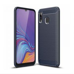 Silikónový kryt na Samsung Galaxy A30 Blue