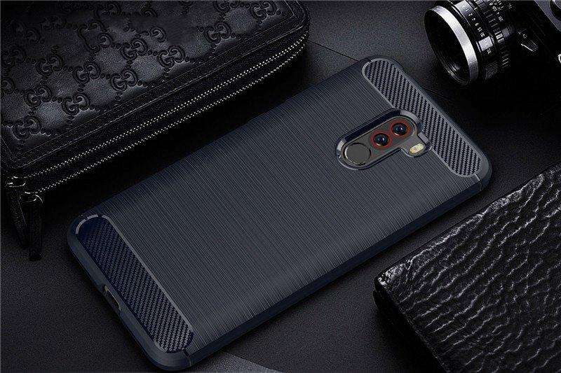 Silikónový kryt na Xiaomi Pocophone F1 Blue
