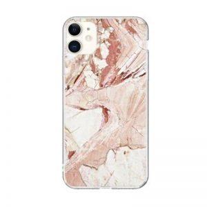 Silikónový kryt na iPhone 11 Pink Marble