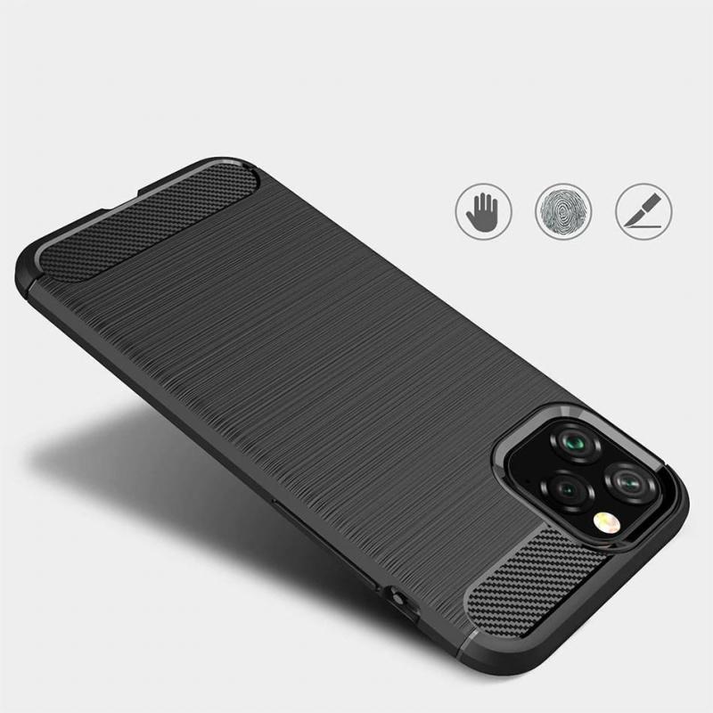 Silikónový kryt na iPhone 11 Pro Carbon Black