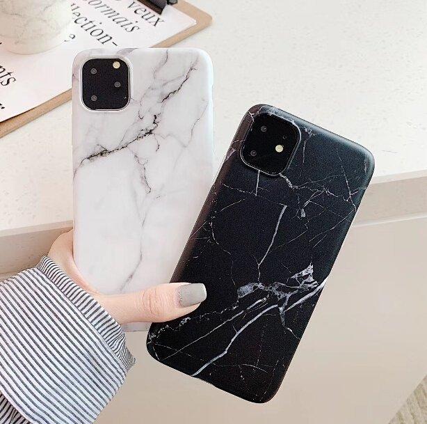 Silikónový kryt na iPhone Marble