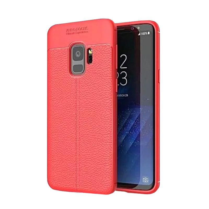 Silikónový kryt na Samsung Galaxy S9 Red
