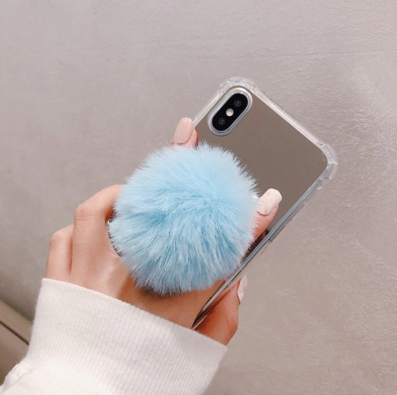 PopSocket Fluffy Blue