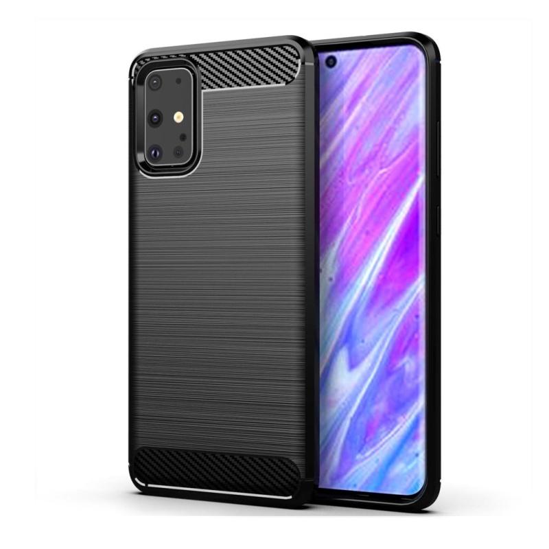 Silikónový kryt na Samsung Galaxy S20 Black Carbon