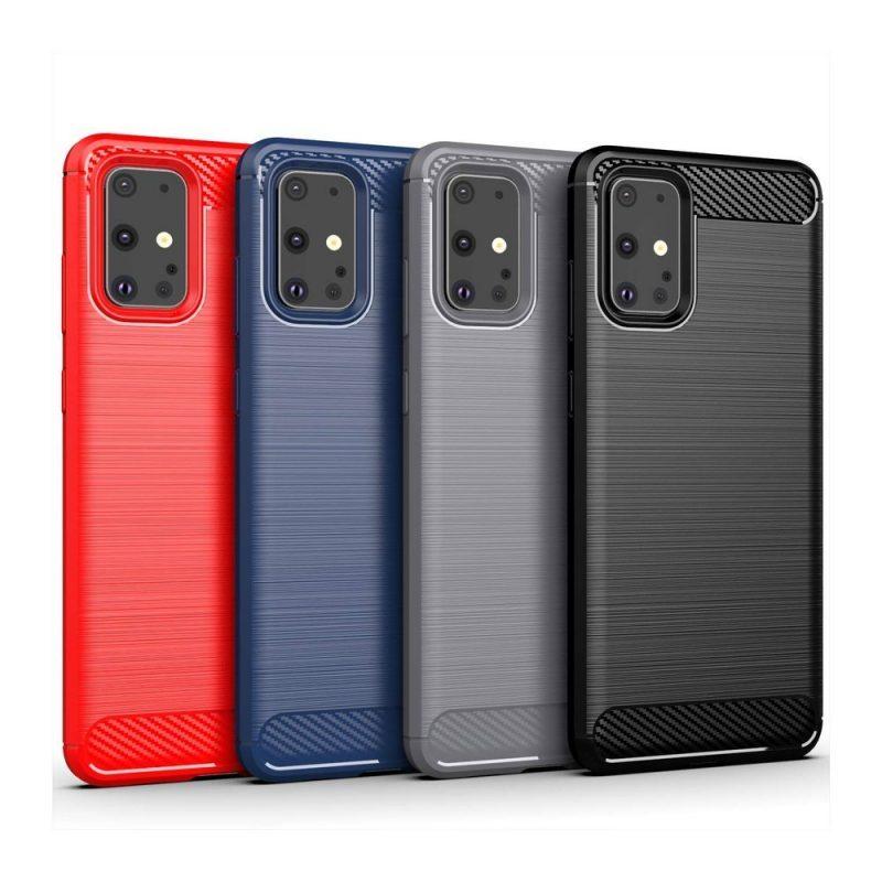 Silikónový kryt na Samsung Galaxy S20 Blue Carbon