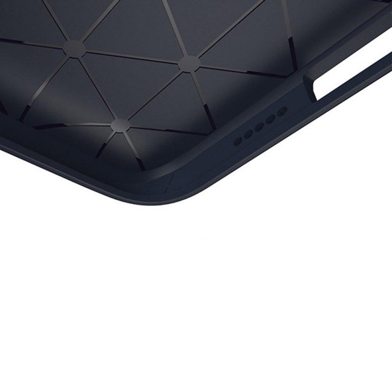 Silikónový kryt na Samsung Galaxy S9+ Blue Carbon