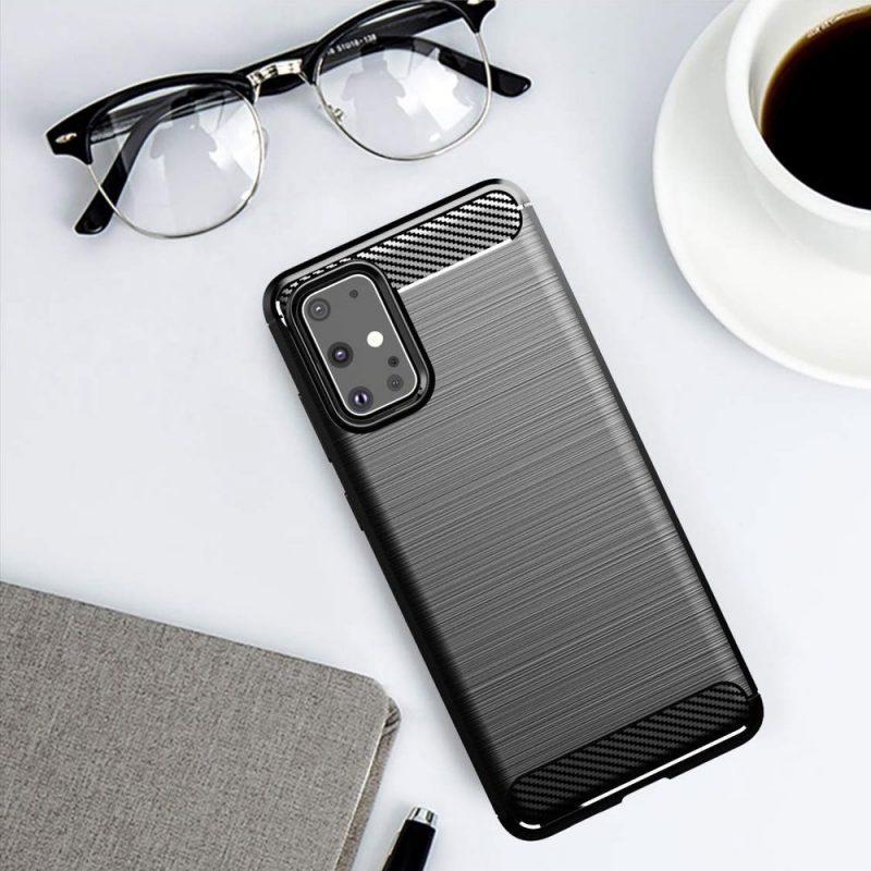 Silikónový kryt na Samsung Galaxy S20 Plus Carbon Black