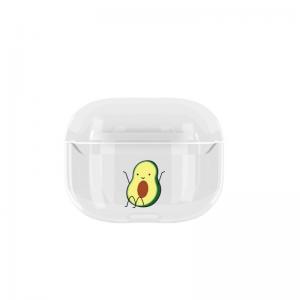Obal na AirPods Pro plastový Avocado