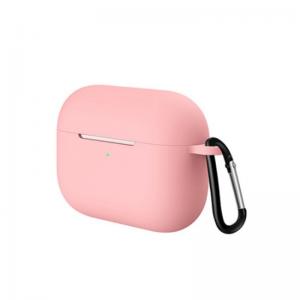 Obal na AirPods Pro silikónový s držiakom Pink