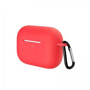 Obal na AirPods Pro silikónový s držiakom Red