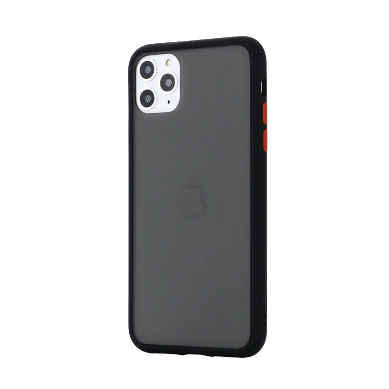 Silikónový kryt na iPhone 11 Pro Max Shockproof Black