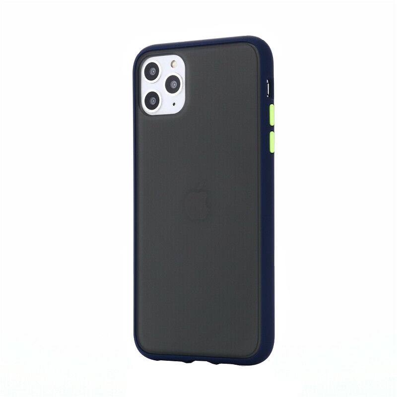 Silikónový kryt na iPhone 11 Pro Max Shockproof Blue