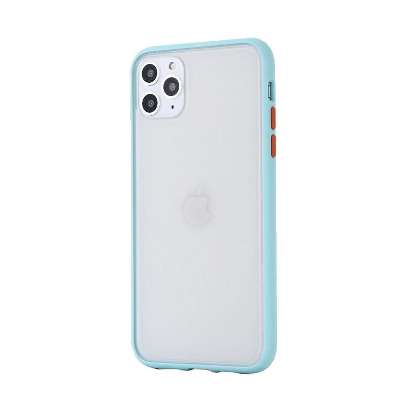 Silikónový kryt na iPhone 11 Pro Max Shockproof Light Blue
