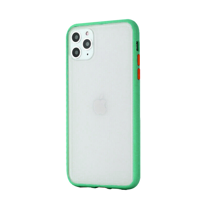 Silikónový kryt na iPhone 11 Pro Shockproof Green