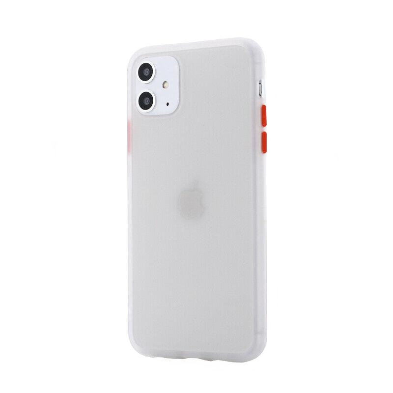 Silikónový kryt na iPhone 11 Shockproof Clear