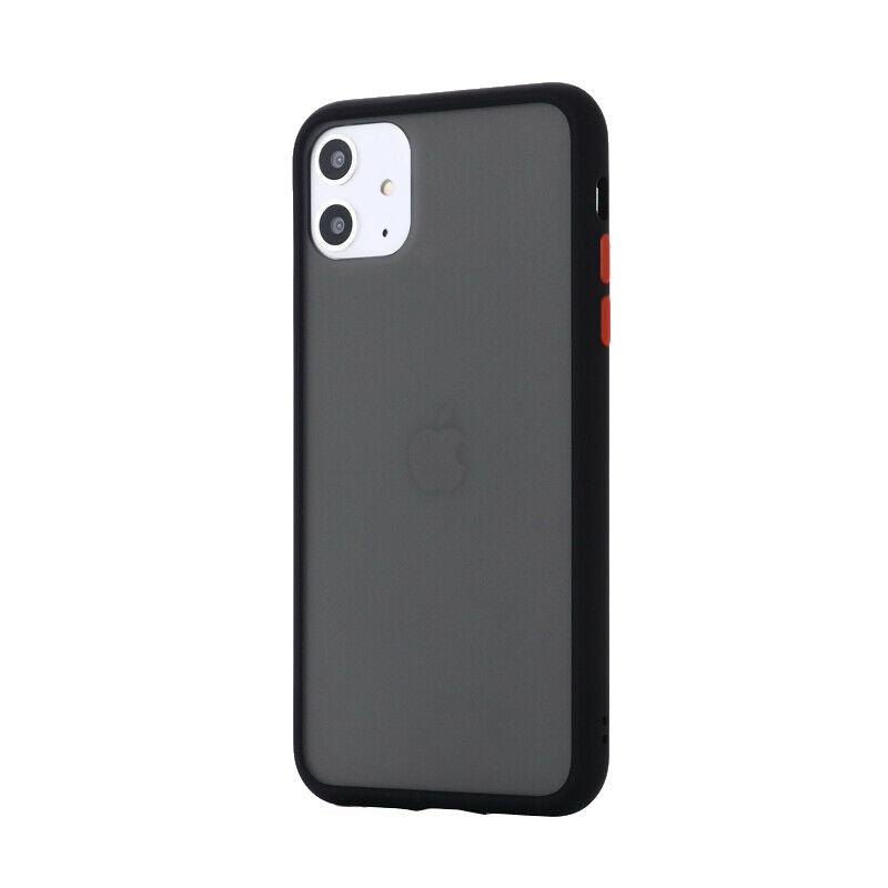 Silikónový kryt na iPhone 11 Shockproof Black
