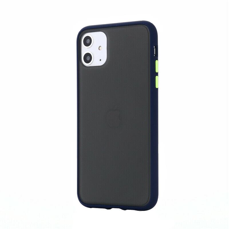 Silikónový kryt na iPhone 11 Shockproof Blue