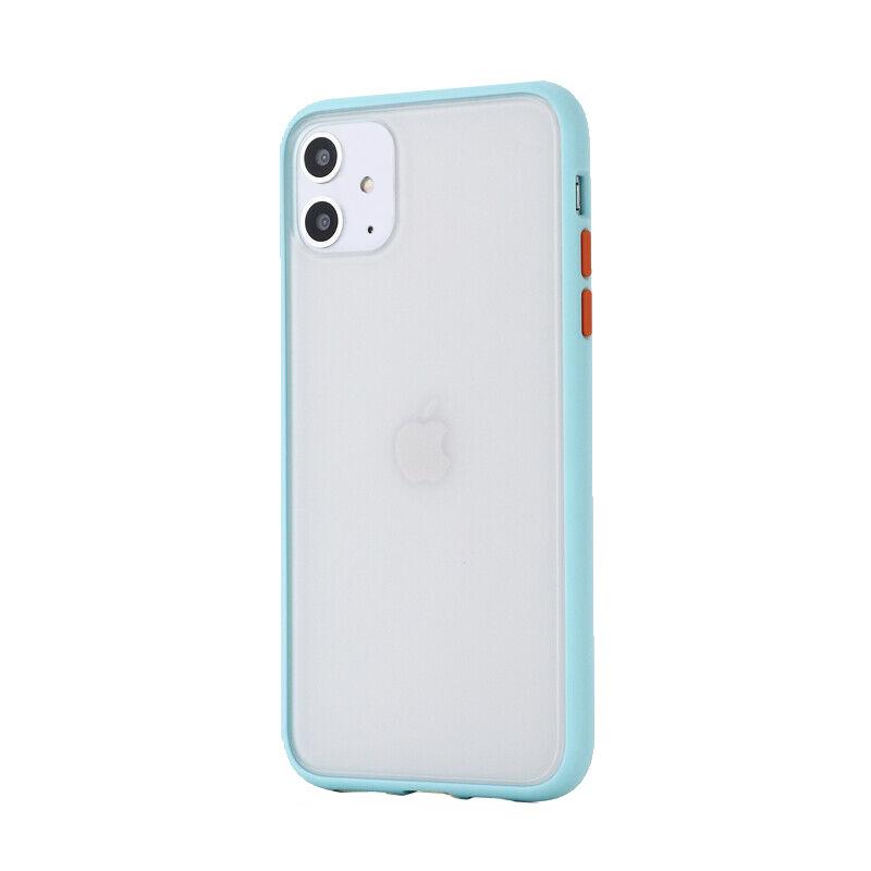 Silikónový kryt na iPhone 11 Shockproof Light Blue