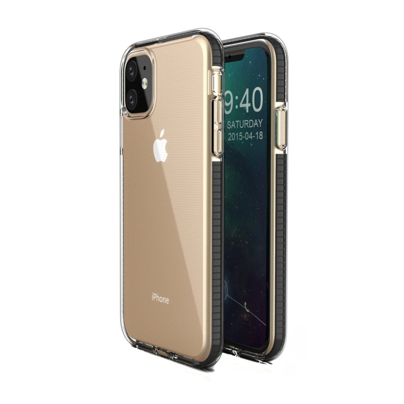 Silikónový kryt na iPhone 11 Spring Black