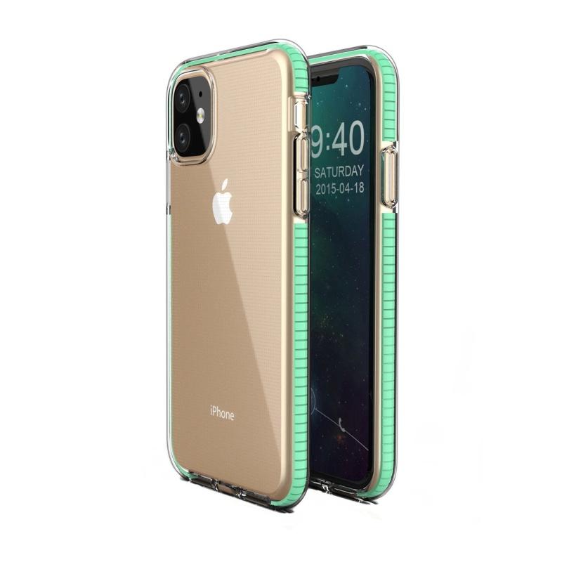 Silikónový kryt na iPhone 11 Spring Mint
