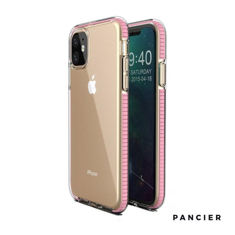 Silikónový kryt na iPhone 11 Spring Light Pink