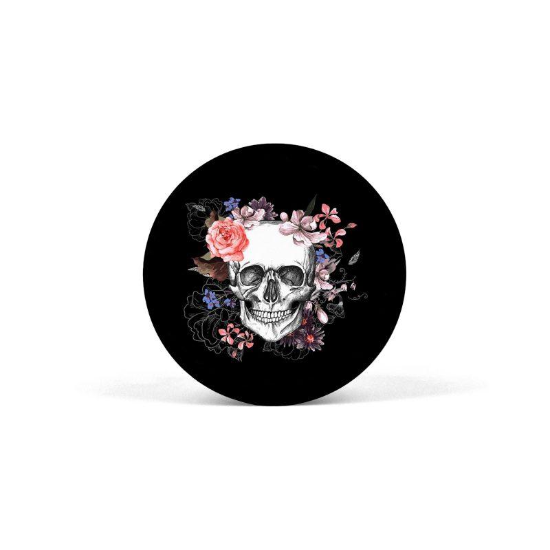 PopSocket Skull in Flowers