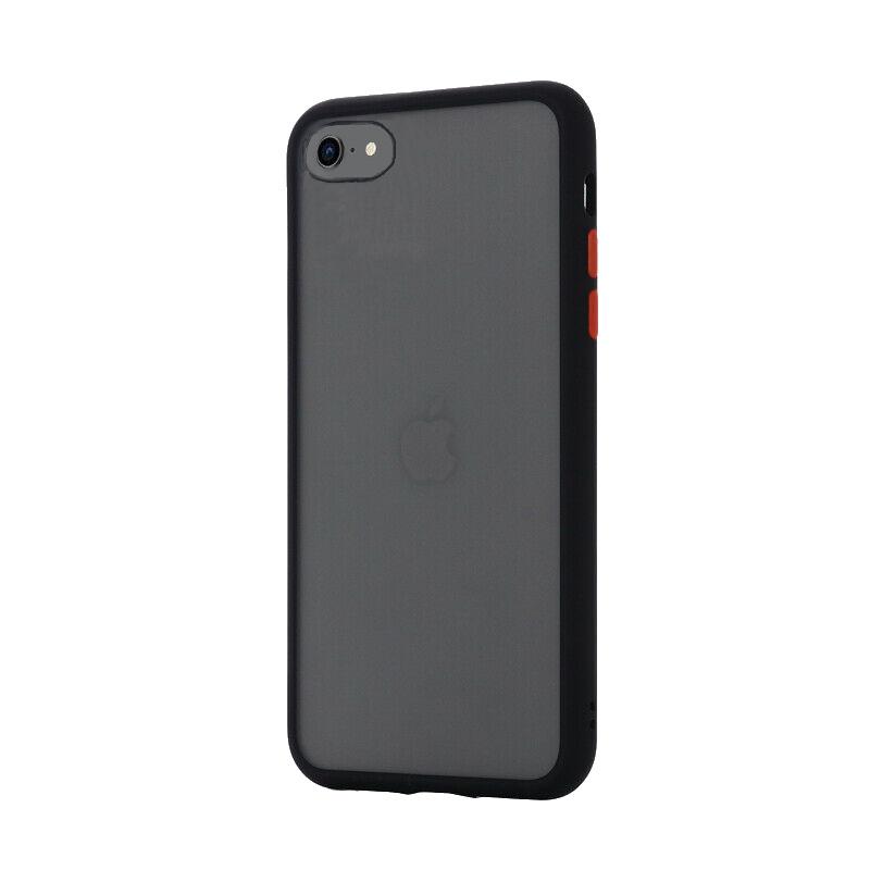 Silikónový kryt na iPhone 7/8/SE 2 Shockproof Black