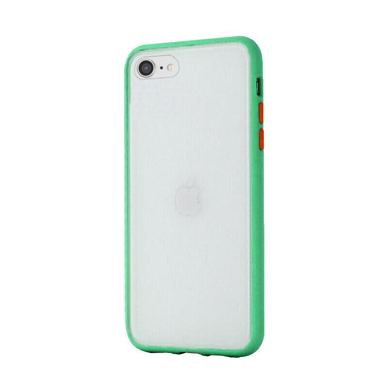 Silikónový kryt na iPhone 7/8/SE 2 Shockproof Green