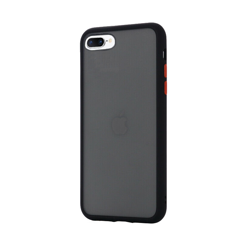 Silikónový kryt na iPhone 7/8 Plus Shockproof Black