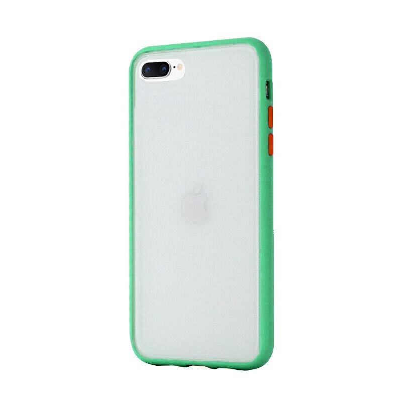 Silikónový kryt na iPhone 7/8 Plus Shockproof Green